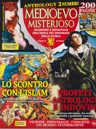 Medioevo Misterioso Anthology - n. 9 - aprile - maggio  2021 - bimestrale  - 2 numeri - 200 pagine