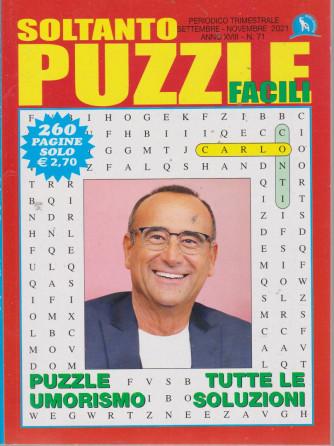 Soltanto Puzzle Facile - n. 71 - trimestrale - settembre - novembre  2021 - 260 pagine