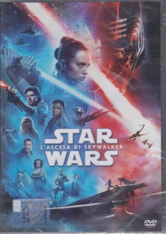 I Dvd Fiction di Sorrisi 2 n. 3  - Star Wars - L'ascesa di Skywalker - 8/12/2020 - settimanale