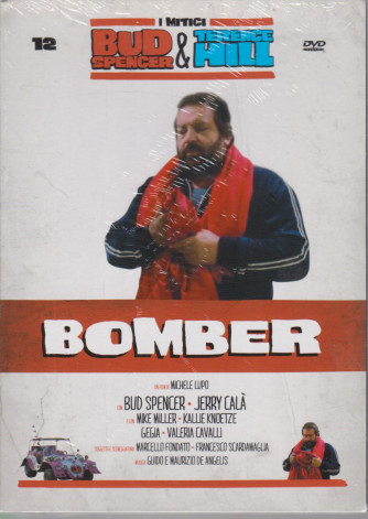 I Dvd di Sorrisi Speciale - n. 12 - I mitici Bud Spencer & Terence Hill  - dodicesima uscita  -Bomber-   aprile  2021