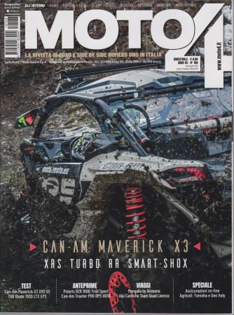 Moto 4 -n. 168 - bimestrale - marzo - aprile  2021 -