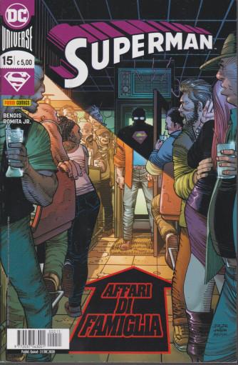 Superman - Affari di famiglia - n. 15 - quindicinale - 31 dicembre 2020