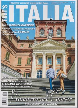 That's Italia - n. 41 -aprile - maggio 2021 - bimestrale