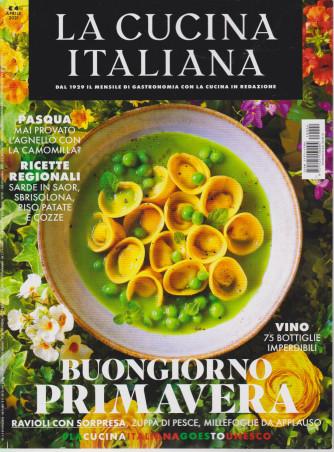 La cucina italiana - n. 4 - aprile 2021 - mensile