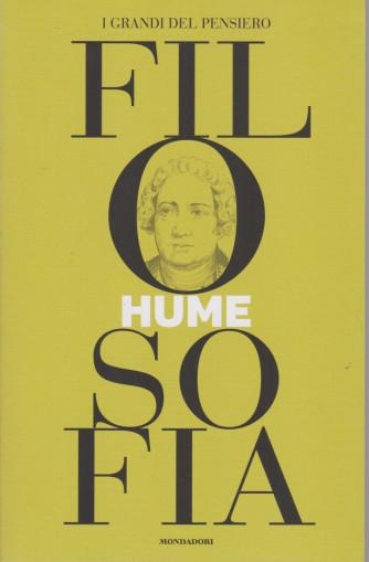 I grandi del pensiero - Filosofia - n.24 - Hume -27/8/2021 - settimanale - 158 pagine