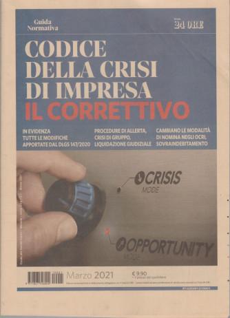 Guida Normativa - Codice della crisi di impresa - Il corrispettivo - n. 1 - marzo 2021 - mensile