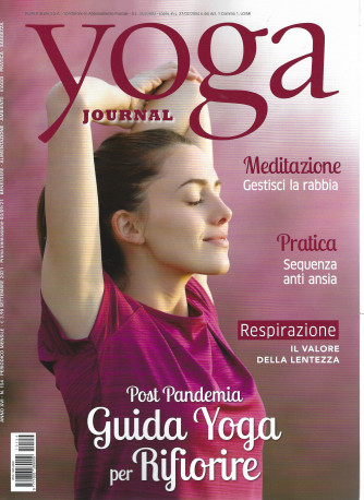 Yoga Journal -     n. 154 - mensile -settembre 2021