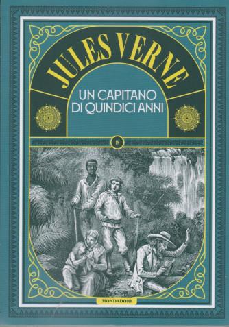 Jules Verne -Un capitano di quindici anni  -  n. 78 -9/3/2021 - settimanale - 305  pagine
