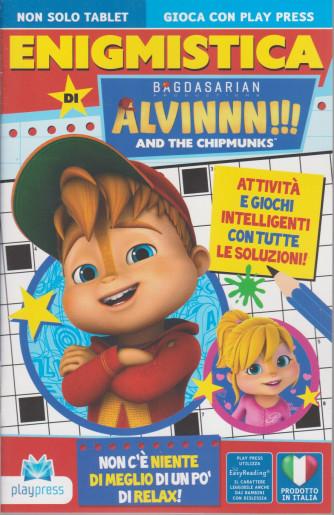 Enigmistica di Alvinnn!!!  - And the chipmunks - n. 11 -aprile - maggio  2021- bimestrale