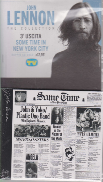 Cd Sorrisi Collezione 2 - n. 2 - John Lennon the collection -terza uscita    Some time in new York city -  22/12/2020 - settimanale