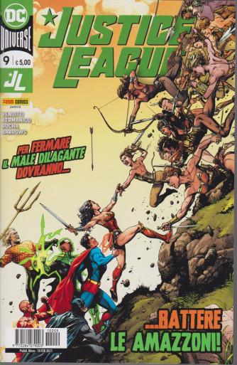 Justice League -....battere le amazzoni! - n. 9 - mensile - 18 febbraio 2021-