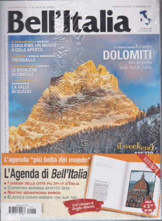 Bell'italia + L'Agenda di Bell'Italia 2021 - n. 417 - mensile - gennaio 2021