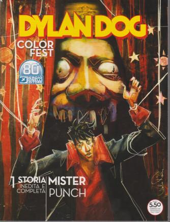 Dylan Dog Color Fest - Mister Punch - n. 356 - 9 febbraio 2021- trimestrale -