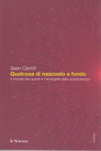 Sean Carroll - Qualcosa di nascosto a fondo - Il mondo dei quanti e l'emergere dello spaziotempo- n. 33 - 302  pagine