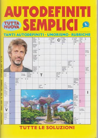 Autodefiniti semplici - n. 106 - settembre - ottobre  2021- bimestrale