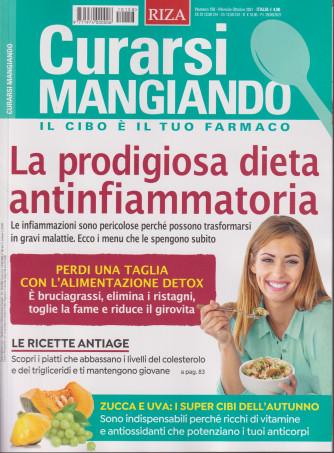 Curarsi Mangiando - n. 158 - La prodigiosa dieta antinfiammatoria-  mensile -ottobre   2021