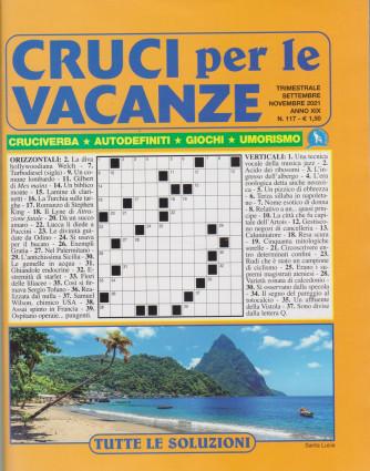 Cruci per le vacanze - n. 117 - trimestrale -settembre - novembre 2021