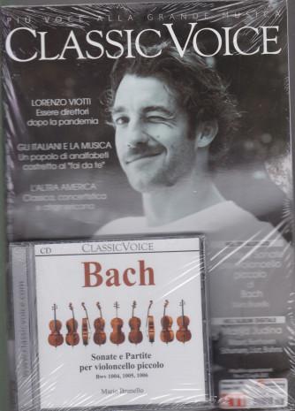 Classic Voice - n. 265 - mensile - giugno   2021 + Cd Bach - rivista + cd