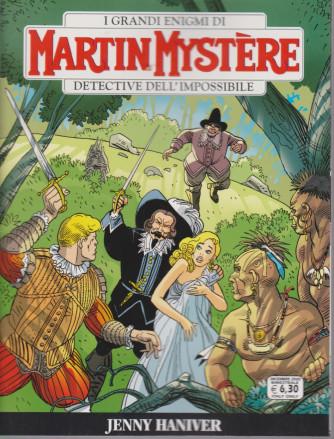 I grandi enigmi di Martin Mystere - Jenny Haniver  - n. 372- dicembre 2020 - bimestrale