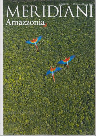 Meridiani- n. 52 - semestrale - Amazzonia - 1/2/2021