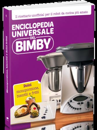 Enciclopedia Universale del Bimby N° 6 DOLCI - Monoporzione, biscotti e fritti