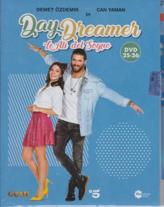 Day Dreamer - Le ali del sogno - n. 14 -tredicesima uscita   - 2 dvd + booklet -24 aprile  2021   - settimanale