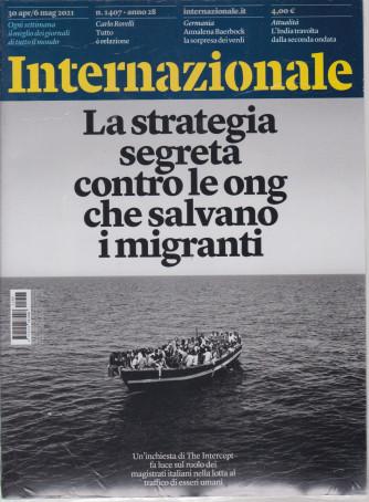 Internazionale - n. 1407 - 30 aprile - 6 maggio   2021 - settimanale - 2 riviste