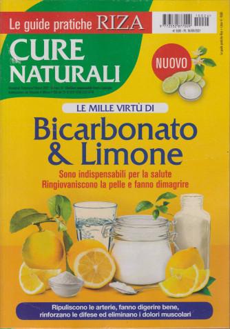Le guide pratiche Riza - Cure naturali    - Le mille virtù di Bicarbonato & limone- n. 24 - settembre - ottobre 2021 - bimestrale