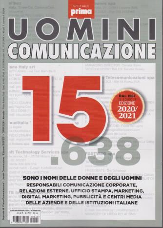 Speciale di Prima Comunicazione - Uomini comunicazione - 30 dicembre 2020 - edizione 2020/2021 - annuale