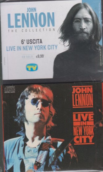 Cd Sorrisi Collezione 2 - n. 5 - John Lennon the collection -sesta uscita  -  Live in New York city -  12/1/2021 - settimanale