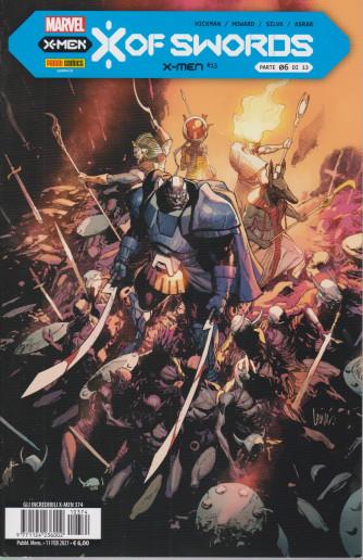 Gli incredibili X-Men -    n. 374 - mensile -11 febbraio 2021
