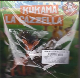 Gli animali del mio  zoo - Kukama la gazzella - n. 16  - settimanale -1/1/2021 - copertina rigida