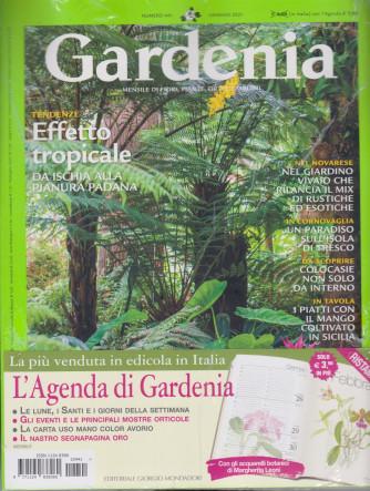 Gardenia +L'agenda di Gardenia 2021 - n. 441 - mensile - gennaio 2021
