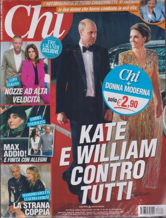 Chi+Donna Moderna - n. 42  - 13 ottobre 2021- settimanale - 2 riviste