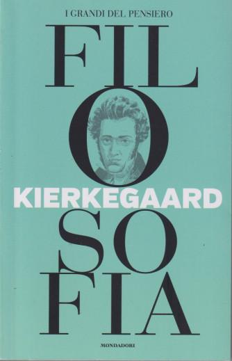 I grandi del pensiero - Filosofia - n.27 - Kierkegaard -17/9/2021 - settimanale - 159 pagine