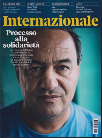 Internazionale - n. 1430 - 8/14 ottobre     2021 - settimanale -