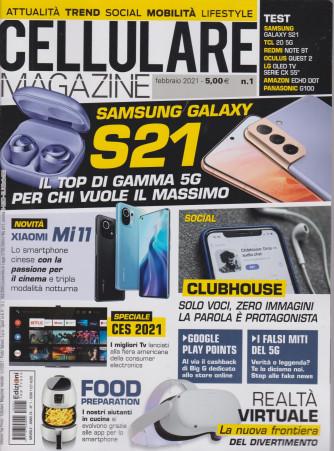 Cellulare Magazine - n. 1 - febbraio  2021 - mensile -