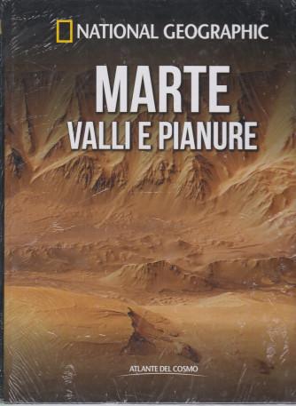 National Geographic   -Marte valli e pianure  -  n. 33  - settimanale- 28/5/2021 - copertina rigida