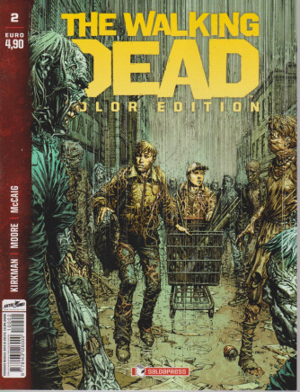 The walking dead  color edition- n. 2 - 13/4/2021 - mensile