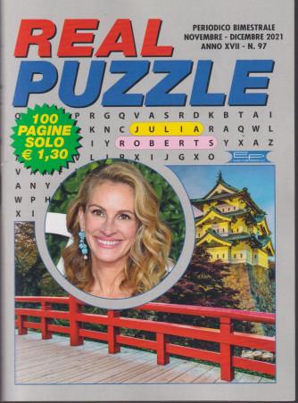 Real Puzzle - n. 97 - bimestrale -novembre - dicembre  2021  -  100 pagine