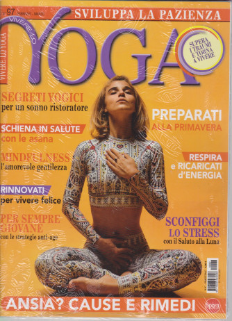 Vivere lo Yoga - + cd - n. 97 -febbraio - marzo 2021 - bimestrale