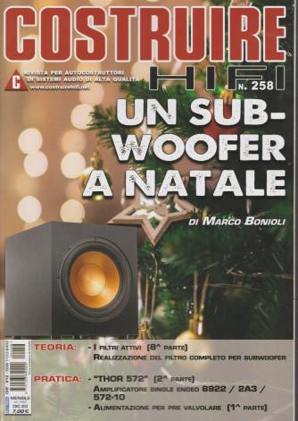 Costruire Hi-Fi - n. 258 - mensile - dicembre 2020