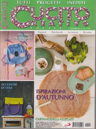 Cucito creativo facile - n. 151 - settembre  2021 - mensile