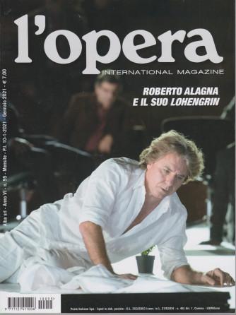 L'opera international magazine - n. 55 - mensile - gennaio 2021