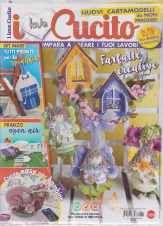 I Love Cucito - n. 11 - bimestrale - maggio - giugno 2021 - 2 riviste