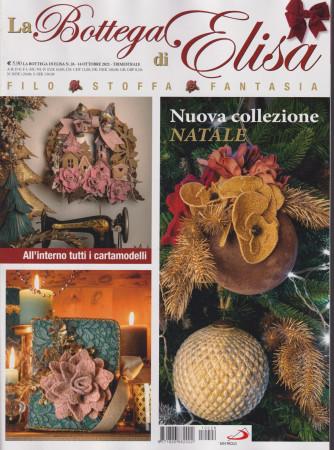 La bottega di Elisa - n. 26 - 14 ottobre 2021 - trimestrale