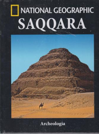 National Geographic -Saqqara - n. 30-Archeologia -  settimanale - 20/8/2021 - copertina rigida