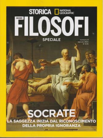 Storica Speciale Grandi filosofi -Socrate- n. 9 - bimestrale -agosto 2021