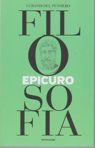 I grandi del pensiero - Filosofia - n.20 -Epicuro   -30/7/2021 - settimanale - 159 pagine
