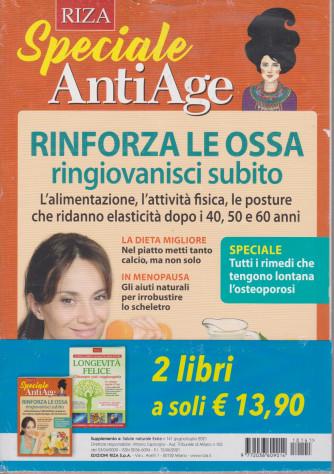 Speciale AntiAge - n. 141 -Rinforza le ossa ringiovanisci subito -  giugno - luglio 2021 - 2 riviste